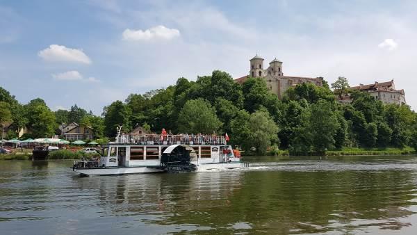 Rejs statkiem z Krakowa do Tyńca