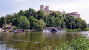 Statek i Gondola w Tyńcu