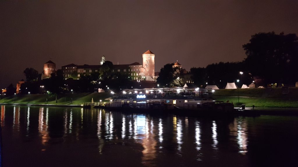 Night cruises Cracow