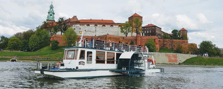 Rejs statkiem Kraków